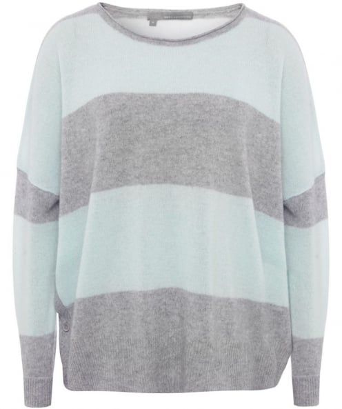 360 Sweater Skylar Striped Cashmere Sweater
