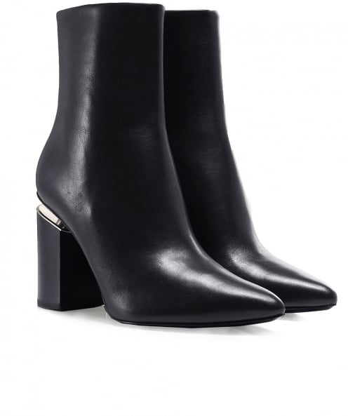 Alexander Wang Leather Kirby Boots