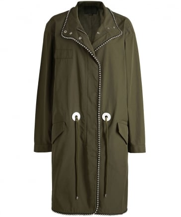 Oversized Ball Chain Parka
