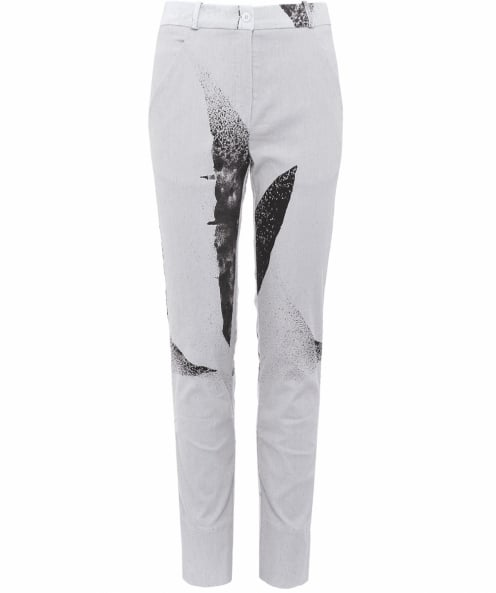 Annette Gortz Clan Printed Linen Trousers