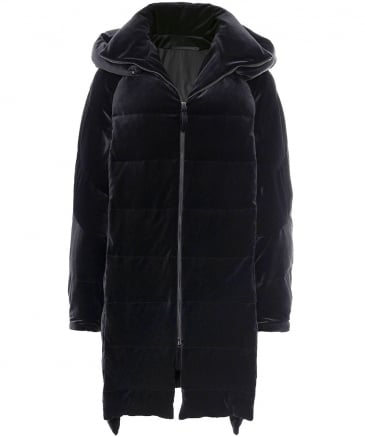Velvet Loft Hooded Puffa Jacket