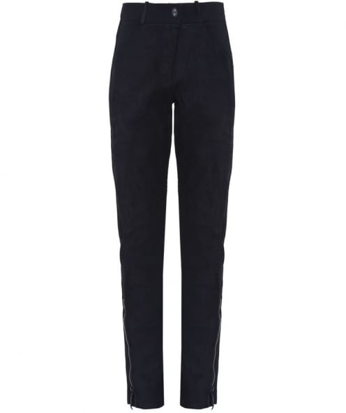 Annette Gortz Zorro Leather Front Trousers