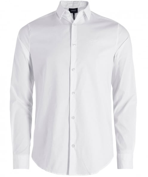 Armani Jeans Slim Fit Stretch Shirt