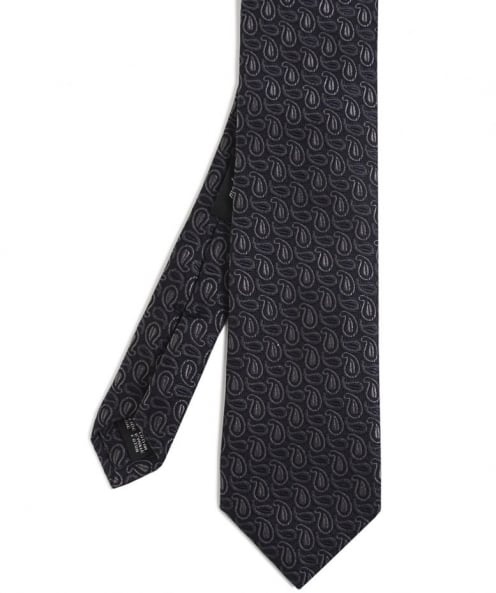 Ascot Accessories Cotton Paisley Tie