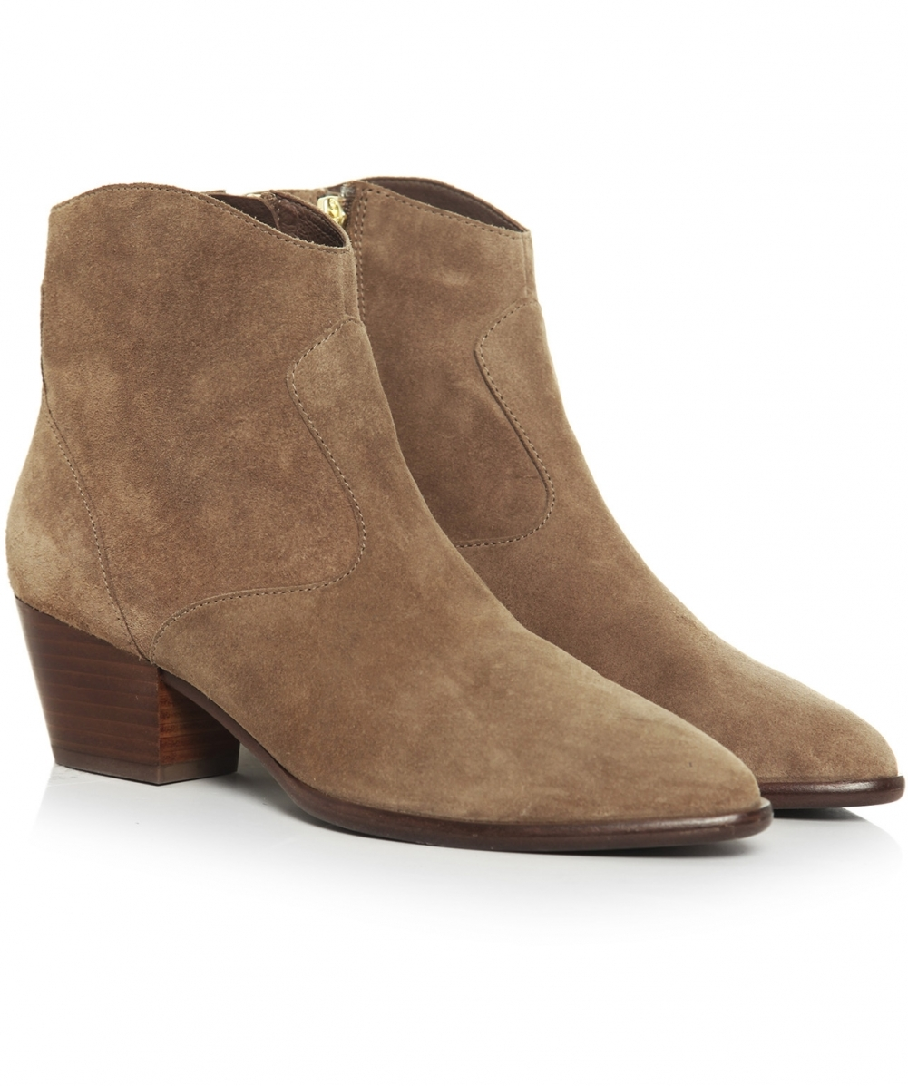 ash heidi baby soft suede ankle boots jules b