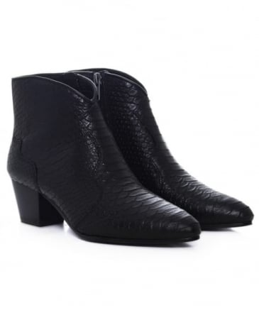 Hurricane Back Cut Ankle Boots