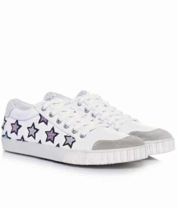 Majestic Leather Star Trainers