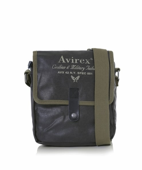 Avirex Leather Alifax Crossbody Bag