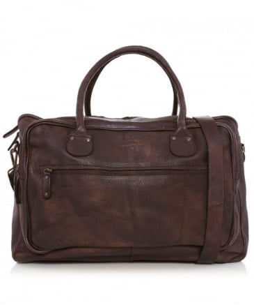Leather Tigerfly Travel Bag
