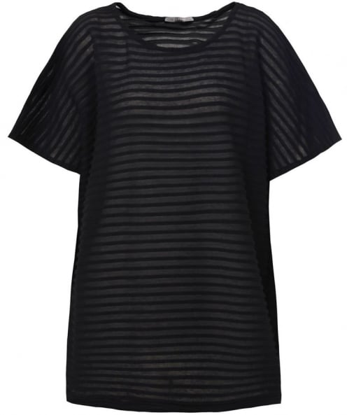 Backstage Hera Sheer Ribbed T-Shirt