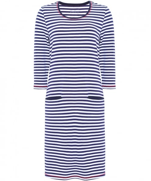 Backstage Susie Striped Jersey Dress