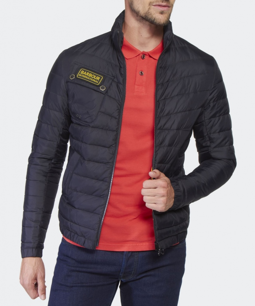 Barbour Chain Baffle Quilted Jacket Available At Jules B