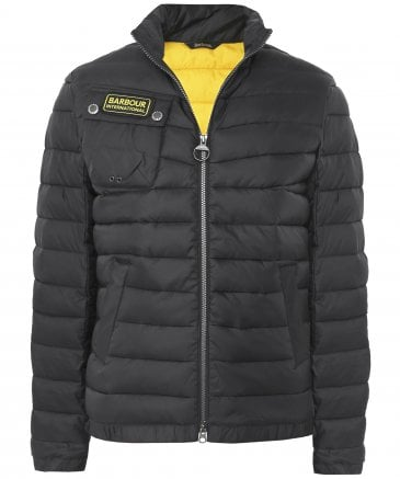 Chain Baffle Quilted Jacket