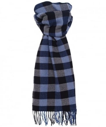 Lambswool Blackwell Check Scarf