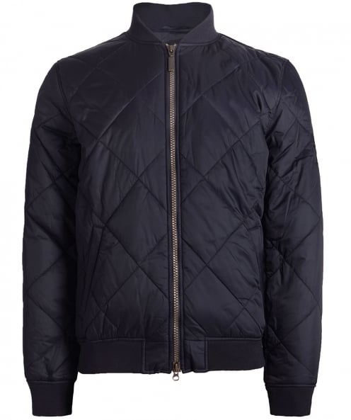Barbour International Quilted SMQ Bomber Jacket