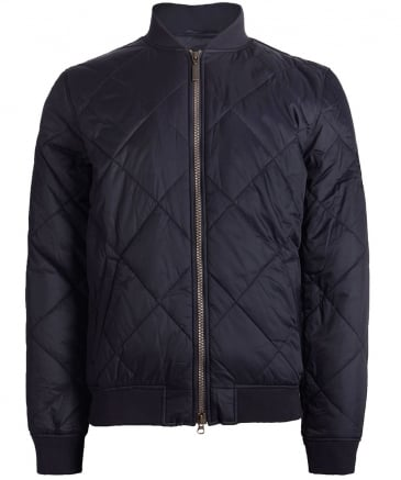 Quilted SMQ Bomber Jacket
