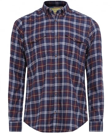 Slim Fit SMQ Julian Check Shirt