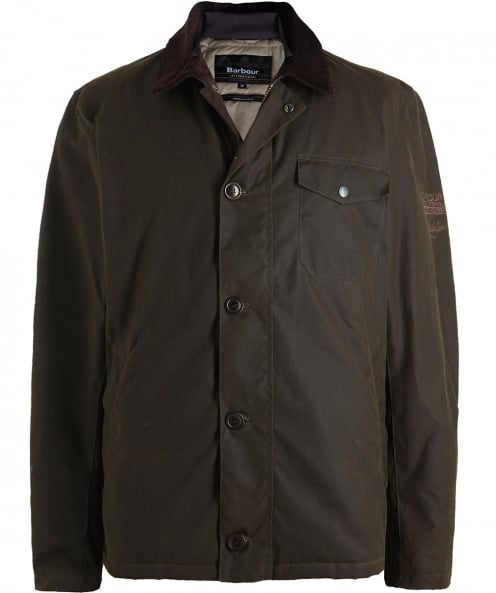 Barbour International Wax SMQ Deck Jacket