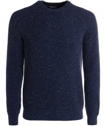 Wool Hasp Crew Neck Jumper