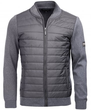 Zip-Through Baffle Quilt Jacket