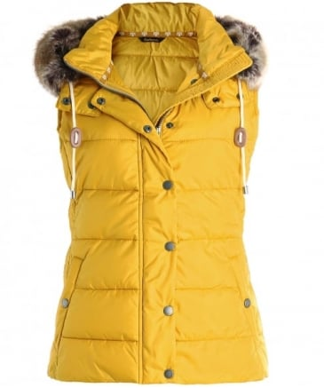Beachley Fur Trim Gilet