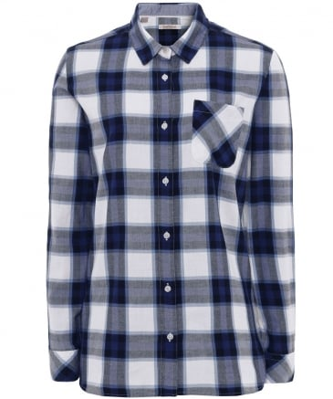 Cotton Headline Check Shirt