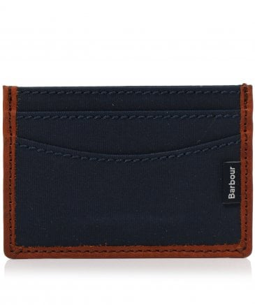 Dry Wax Leather Card Holder