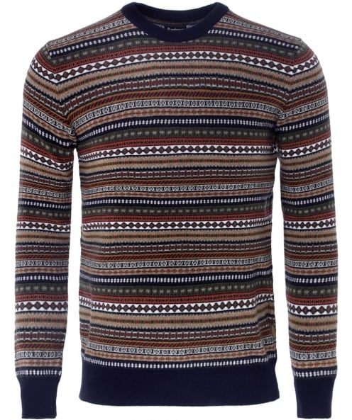 Barbour Easton Cashmere Fair Isle Jumper