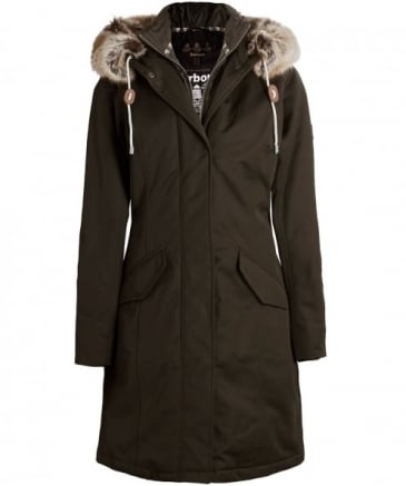 Faux Fur Filey Hooded Parka