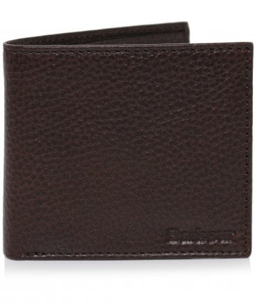 Grain Leather Billfold Wallet