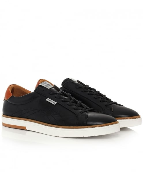 Barbour Leather Howdon Cupsole Trainers
