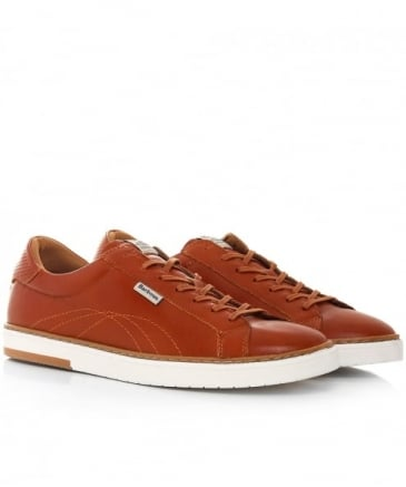 Leather Howdon Cupsole Trainers