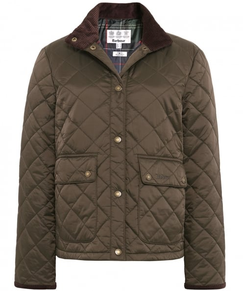 Barbour Nidd Short Quilted Jacket
