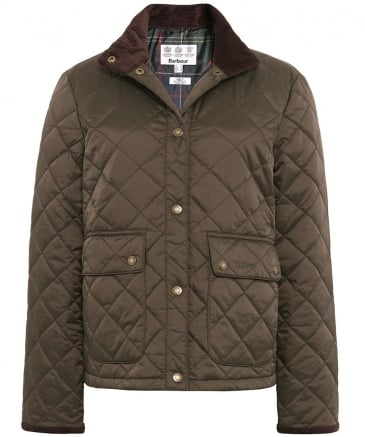 Nidd Short Quilted Jacket