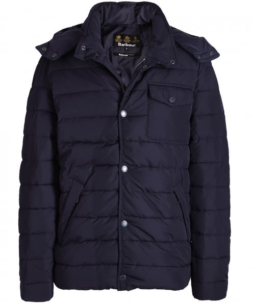 Barbour Quilted Cowl Down Jacket