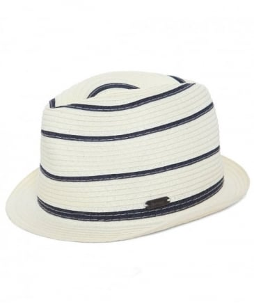 Striped Machar Trilby