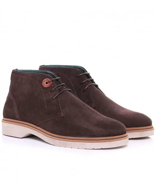 Barbour Suede Hudson Chukka Boots