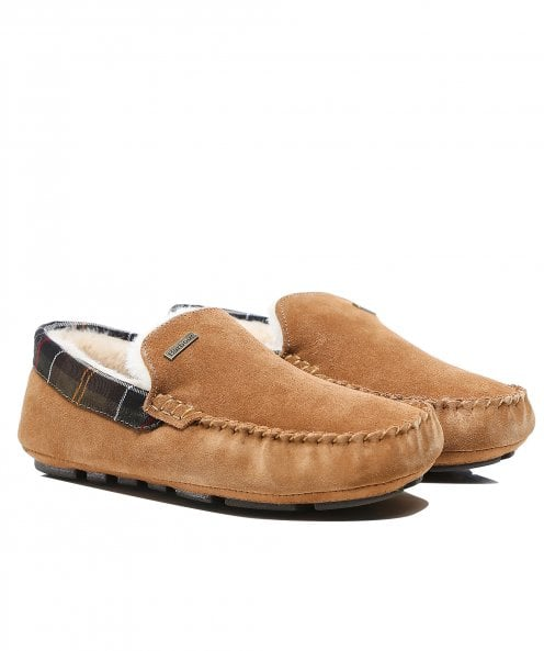 Barbour Suede Moccasin Monty Slippers