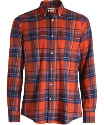 Tailored Fit Check Finley Shirt