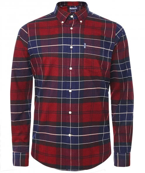 Barbour Tailored Fit Check Lustleigh Shirt