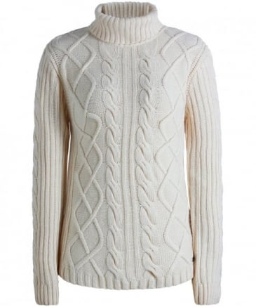 Wool Cable Knit Fraser Jumper