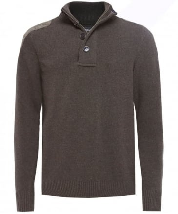 Wool Half-Button Charlock Jumper