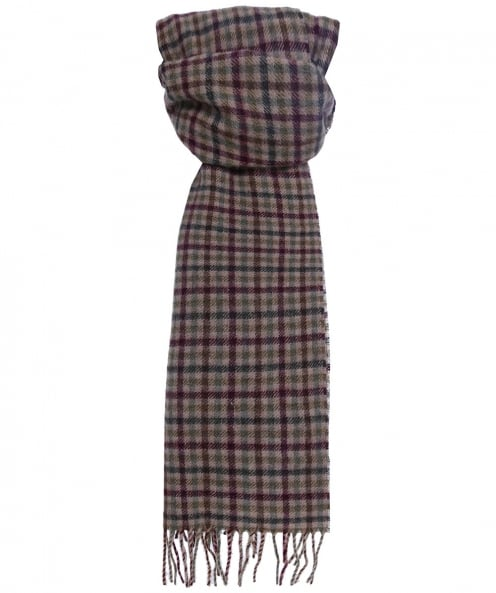 Barbour Wool Houghton Check Scarf