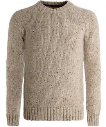 Wool Netherby Crew Neck Jumper