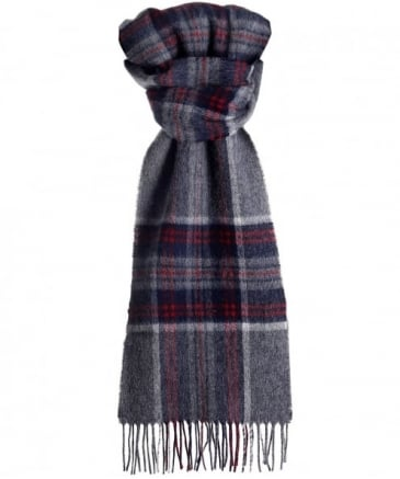 Wool Slaley Check Scarf