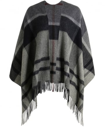 Wool Staffin Tartan Cape