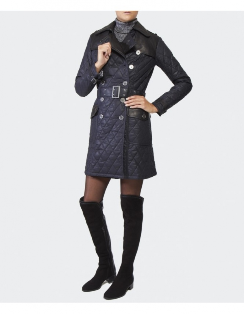 Women S Barbour Major Wax Trench Coat Available At Jules B