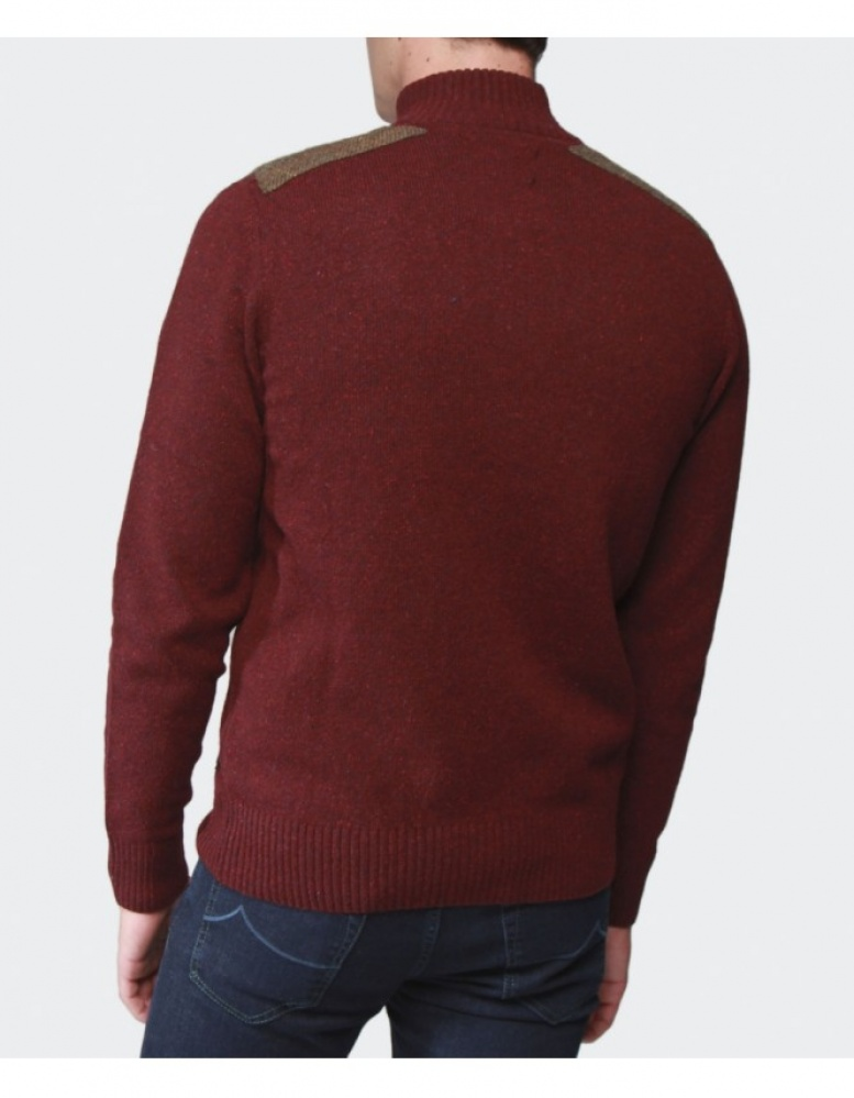 Barbour Netherfield Half-Zip Sweater available at Jules B