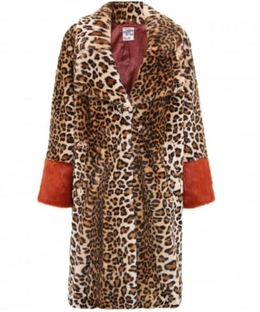 Faux Fur Davan Coat