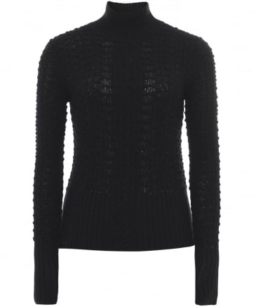 Merino Wool Cable Knit Carlina Jumper